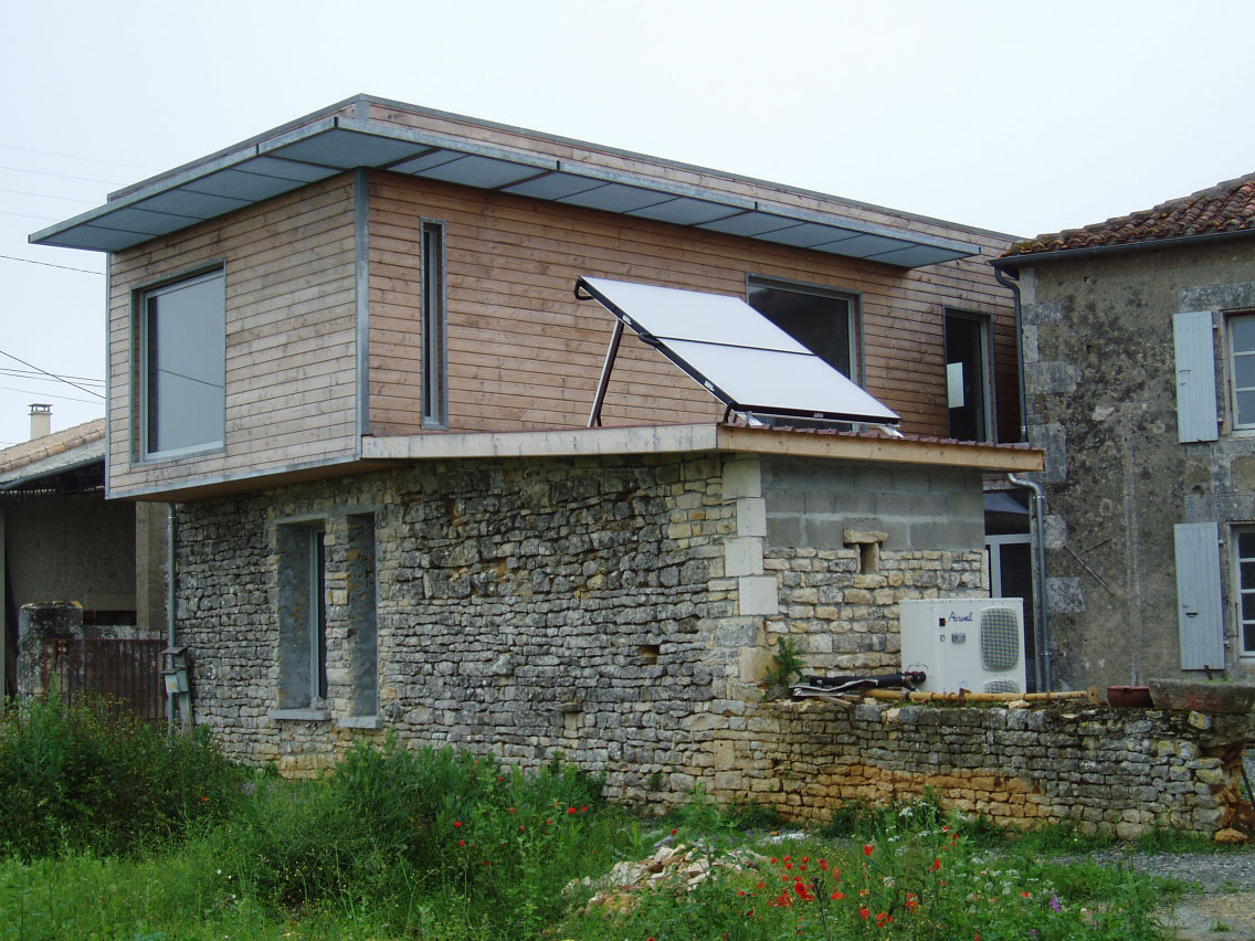 Maisons en structure m tallique construction m tallique charente g rard g - Structure metallique maison ...